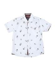 Arcade Styles - Astronaut All Over Print Woven Shirt (4-7)-2384045