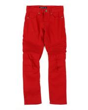 Pants - Stretch Skinny Moto Pants (8-18)-2384432