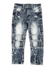 Arcade Styles - Cut Knee Moto Jeans (4-7)-2384144