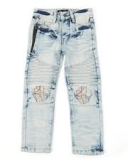 Arcade Styles - Cut Knee W/ Stitching Jeans (4-7)-2384149