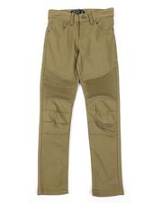 Pants - Stretch Skinny Moto Pants (8-18)-2384108