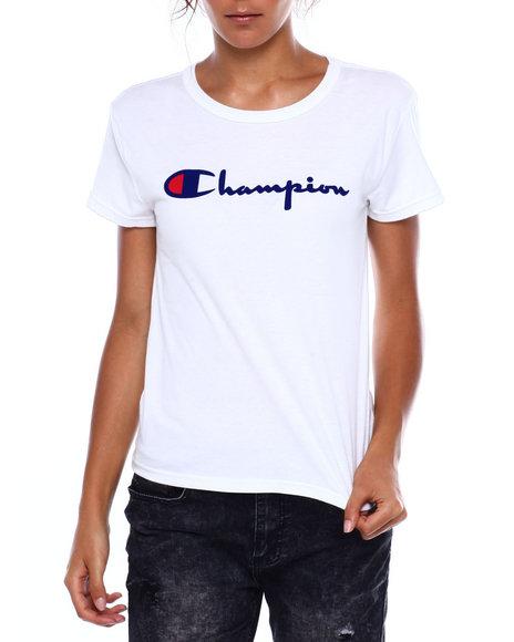 Champion - The Original Tee-Direct Flock Script