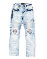 Arcade Styles - Cut Knee W/ Stitching Jeans (8-18)-2384439