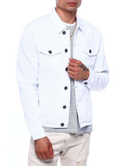 Buyers Picks - White Trucker Jacket