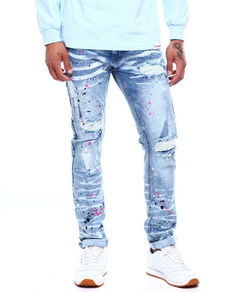 Marc Ecko Collection - Drip Paint Splatter Jean