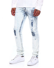 Marc Ecko Collection - Bikers Rip and Repair Jean-2384325