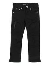 Boys - Stretch Embossed Bull Denim Jeans (4-7)-2384532