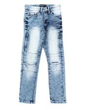 Boys - Flex Moto Denim Jeans (8-18)-2384924