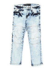 Boys - Moto Denim Jeans (4-7)-2384559