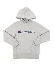 Champion - Classic Script CVC Hoodie (8-20)-2384976