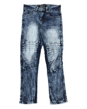 Arcade Styles - Moto Denim Jeans (8-18)-2384564