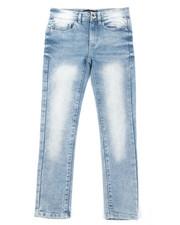 Boys - Flex Basic Denim Jeans (8-20)-2384896