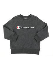 Champion - Classic Script CVC Sweatshirt (4-7)-2385034