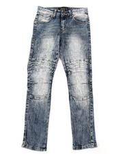 Boys - Moto Denim Jeans (8-18)-2384542