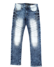 Boys - Flex Moto Denim Jeans (8-18)-2384917