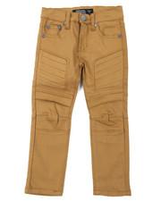 Boys - Stretch Embossed Bull Denim  Jeans (4-7)-2384728