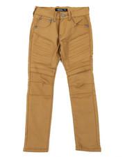 Boys - Stretch Embossed Bull Denim Jeans (8-18)-2385331