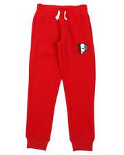 Boys - Fleece Pants W/ Chenille Patch (8-20)-2385278