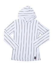 Phat Farm - Hooded Long Sleeve Stripe Print Tee (8-18)-2384576