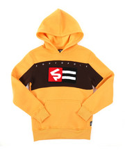 Hoodies - Pullover Fleece Hoodie W/ Chenille Patch (8-20)-2384754