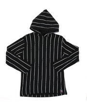 Phat Farm - Hooded Long Sleeve Stripe Print Tee (8-20)-2385095