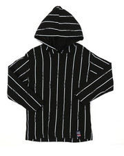 Phat Farm - Hooded Long Sleeve Stripe Print Tee (4-7)-2385241