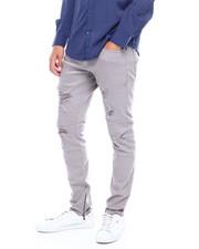 Jordan Craig - rip and repair 5 pocket color denim-2385412