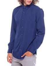 Mens-Fall - Micro Polka Dot Ls Woven Shirt-2385493