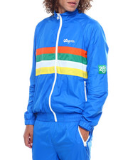 LRG - 20th Anniversary FOUR STRIPE lightweight Nylon TRACK JACKET-2385235
