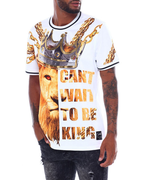 SWITCH - Cant wait to be king tee