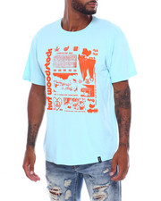 HUF - WOODSTOCK VISUALIZE S/S TEE-2386939
