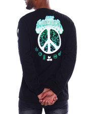 HUF - WOODSTOCK LOADED L/S TEE-2387079