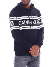 Calvin Klein - VARSITY TRAVELING LOGO HOODIE-2386768
