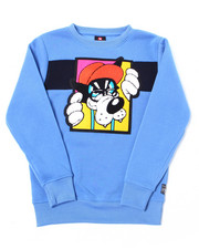 Sweatshirts & Sweaters - Fleece Crew Neck w/ Chenille Patch (8-20)-2387412