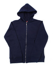 Hoodies - Heavy Weight 260-280GSM Fleece Zip Hoodie (8-18)-2387481