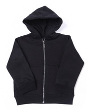 Hoodies - Heavy Weight 260-280GSM Fleece Zip Hoodie (8-18)-2387491