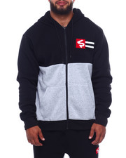 Buyers Picks - Full Zip Fleece Hoodie W/Chenille Patch (B&T)-2386317