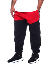 Buyers Picks - Color Block Fleece Pants W/Side Zipper (B&T)-2387180