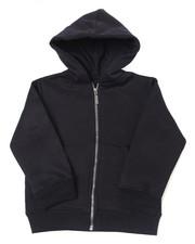 Hoodies - Heavy Weight 260-280GSM Fleece Zip Hoodie (4-7)-2387431