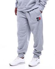 Buyers Picks - Fleece Pants W/Chenille Patch (B&T)-2387174