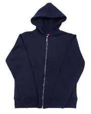 Hoodies - Heavy Weight 260-280GSM Fleece Zip Hoodie (4-7)-2387422