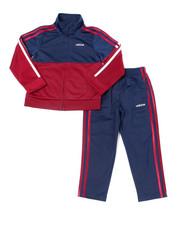 Adidas - Color Block Tricot Set (Infant)-2387663