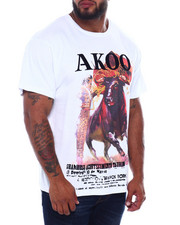 AKOO - Fighter S/S Knit (B&T)-2387202