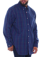 Chaps - EC Stretch-Long Sleeve Sport Shirt (B&T)-2387140