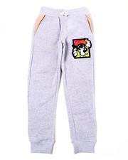 Sweatpants - Fleece Pant w/ Chenille Patch (8-20)-2387558