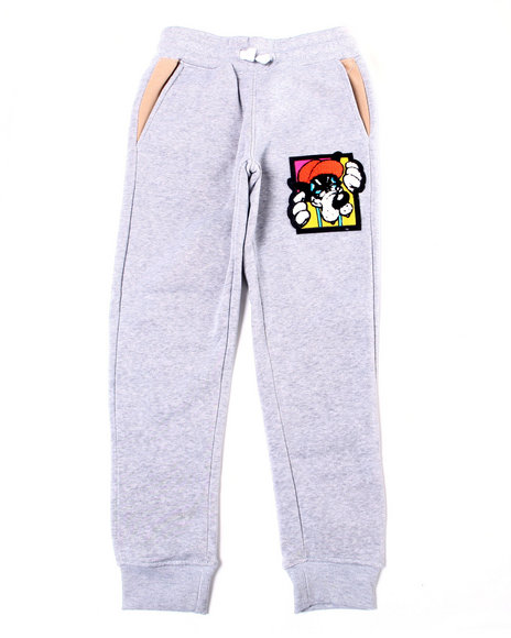 Arcade Styles - Fleece Pant w/ Chenille Patch (8-20)