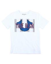 True Religion - TR Line S/S Tee W/Rib Binding (4-7)-2387386