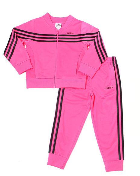 Adidas - Linear Tricot Jacket Set (2T-4T)