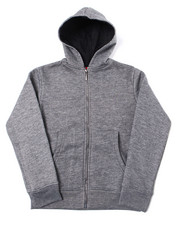 Outerwear - Heavy Weight 260-280GSM Fleece Zip Hoodie (4-7)-2387466