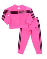 Adidas - Linear Tricot Jacket Set (4-6X)-2387696